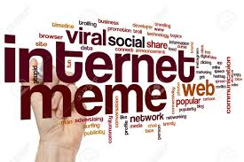 Meme Word - internet meme word cloud concept stock photo picture and royalty