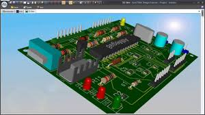 pcb designer schematic simulation pcb design and solid modeling