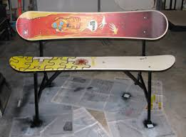 Snowboard Bench Legs Snowboard Bench Plans Best Benches