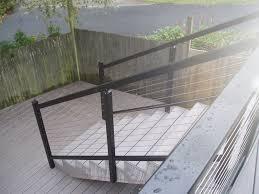 black aluminum stair railing attractive aluminum stair railing