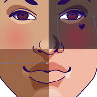 vector skin tone tutorial quick lesson on using different skin tones in portrait illustration
