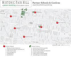 Cambria Map Visit Historic Fair Hill