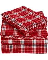 new deals on plaid flannel sheets