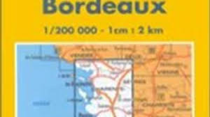 Bordeaux France Map Traveling Book Summary Michelin La Rochelle Royan Bordeaux