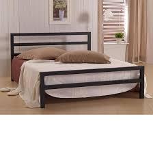 4ft Bed Frame City Block Black Metal Bed Frame 4ft Small