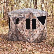 Tree Trunk Hunting Blind Big Game The Redemption Ground Blind Gander Mountain Hunting