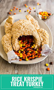 rice krispie treat turkey a