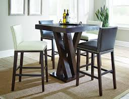 Steve Silver Dining Room Sets Steve Silver Tiffany 7 Piece Dark Espresso Cherry Dining Set