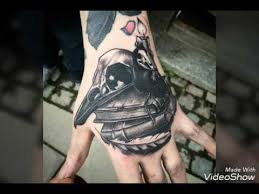 mens hand tattoo ideas youtube