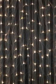 curtain lights 4x8 warm white led lights event decor