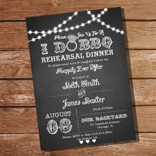 i do bbq rehearsal dinner invitation instant download and
