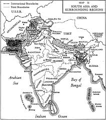 Map Of Southeastern States by Central Themes For A Unit On South Asia Central Themes And Key