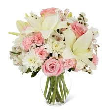 white lillies white bouquet of elegance at send flowers