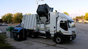 electric company truck electric trucks for garbage collection youtube