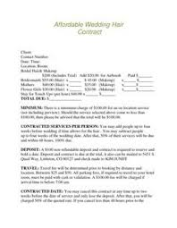 Sle Invoice For Independent Contractor by Freelance Makeup Artist Contract Sle Mugeek Vidalondon