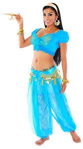 halloween dance costumes deluxe arabian princess jasmine blue halloween costume turquoise