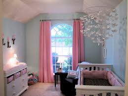 Pink And Brown Curtains For Nursery by Molly U0027s Coco Dot Nursery Pink Color Schemes Teal And Originals
