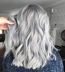 silver hair with lowlights 25 silver hair color looks that are absolutely gorgeous