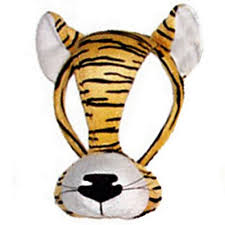 tiger headband tiger mask on headband with sound party packs