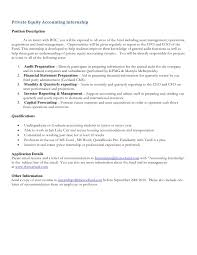 Best Resume For Accounting Job by Financial Accounting Internship Cover Letter Internship Cover