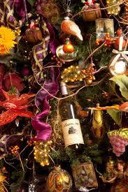 String Christmas Tree Lights by Wine Christmas Tree Christmas Lights Decoration