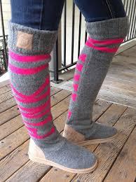 ugg boots sale secret s secret pink sweater knit sock slippers mukluks