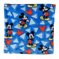 disney mickey mouse soft fleece blanket blue