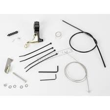 full throttle inc goldfinger left hand throttle kit for polaris