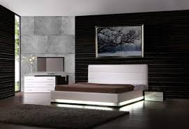 furniture interesting black and white bedroom decoration using