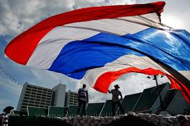 Thai Flag Thai Baht And Stocks Decline After Martial Law Announcement