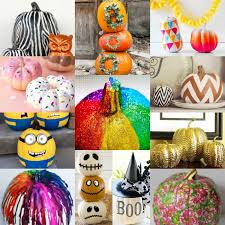 Decorate Pumpkin How To Decorate A Pumpkin Without Carving It 20 Easy Ideas
