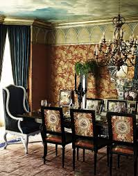 Wallpaper Designs For Dining Room 20 Colors That Jive Well With Red Rooms