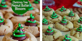 peanut christmas tree get daily recipes christmas tree peanut butter blossoms