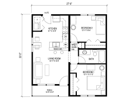 one room house floor plans one bedroom bungalow floor plan admirable house base reno 1950s