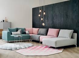 salons canap inspiration canapé d angle elements et chauffeuse gris vert