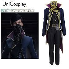 Emily Halloween Costume Aliexpress Buy Dishonored 2 Emily Cosplay Costume Mask