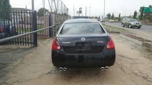 nissan maxima leather seats nissan maxima 3 5sl 2005 920k autos nigeria