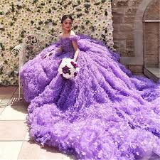 purple wedding dresses aliexpress buy hot sale 2016 new luxury