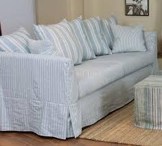 Oversized Red Chair U0026 White Striped Fabric Classic Sofa U0026 Oversize Chair