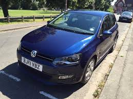 volkswagen polo 1 4 match 5dr shadow blue metallic in caversham