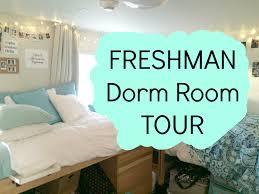 dorm room tour freshman year youtube