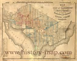 Map Washington Dc Of Washington D C