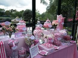 buffet table decor 33 minnie mouse themed candy buffet ideas