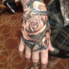 hand tatto for men 31 rose tattoos on hands for men
