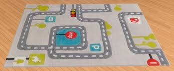 Kids Race Track Rug by Kids Rugs Sims 4 Custom Content