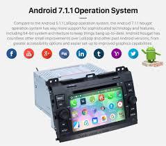 lexus gx470 rear entertainment system seicane s127688 quad core 2002 2009 lexus gx470 android 7 1 1
