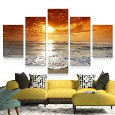 Canvas Wall Decor HD Canvas Printed Modern Paint Wall Decals 3D