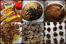 new year chocolate new year cookies or haystacks with lorelai