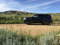 nissan armada wireless headphones 2017 nissan armada 4wd takes on the family road trip review