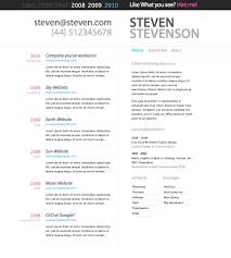 Best And Updated Resume Format by Free Resume Templates Example Of A Great Good Cv Title Examples